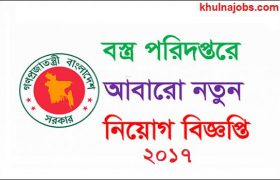 Ministry Of Textile And Jute Job Circular 2017