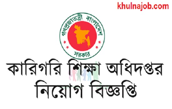 Directorate of Technical Education Job Circular 2017