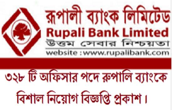 Rupali Bank Job Circular 2017