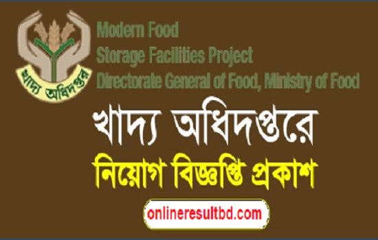 Ministry of Food Job Circular 2017